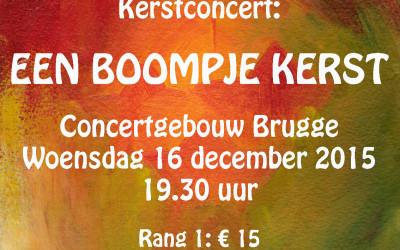 affiche Boompje Kerst